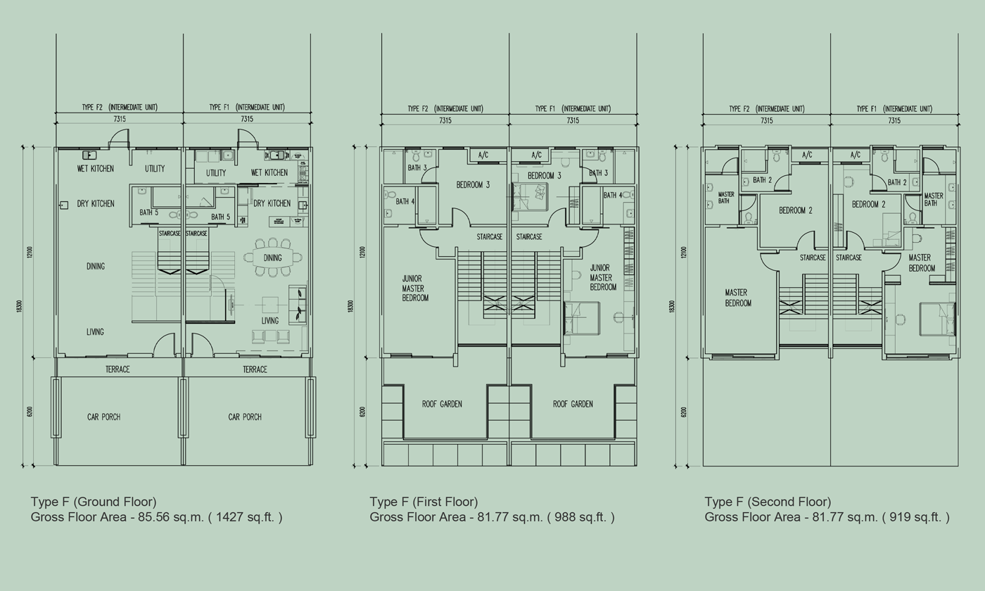 1 Tanjung Penang Floor Plan