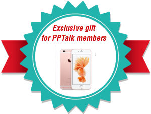 Exclusive gift for PPTalk members