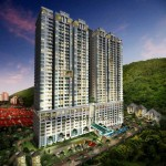 CONDOMINIUM PERSPECTIVE - EVENING VIEW