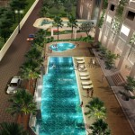 CONDOMINIUM - POOL NIGHT VIEW