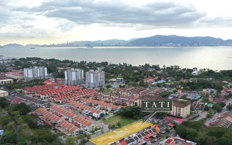 Taman Air Tawar Indah Aerial View