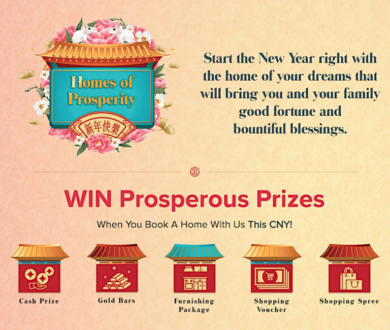 Start the New Year right with the home of your dream Click here for more info aboutHomes of Prosperity
